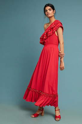 MISA Safa One-Shoulder Dress