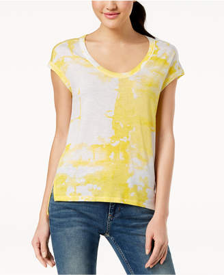 Calvin Klein Jeans Printed High-Low T-Shirt
