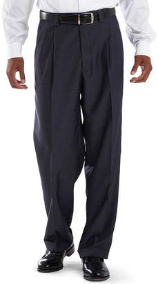 JCPenney Steve Harvey Pleated Sharkskin Dress Pants