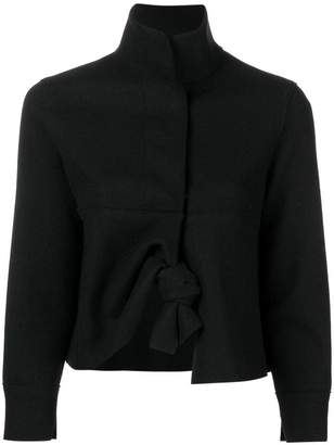 Hache cropped knot jacket