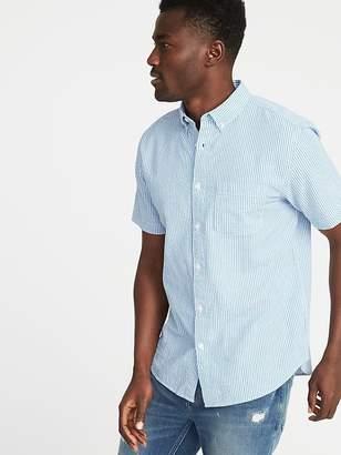 Old Navy Slim-Fit Seersucker Shirt for Men