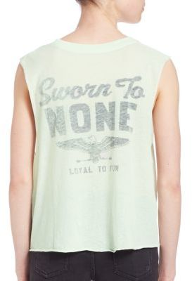 Wildfox Motel Dreamers Asymmetric Tank Top $62 thestylecure.com
