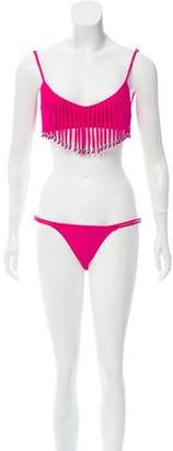 Mara Hoffman Embellished Two-Piece Bikini w/ Tags