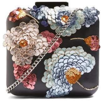Topshop Iris Leather Clutch Handbag