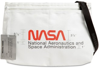 Heron Preston Nasa Print Nylon Crossbody Bag