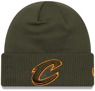 New Era Cleveland Cavaliers Tip Pop Cuffed Knit Hat