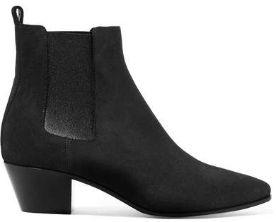 Saint Laurent - Rock Suede Chelsea Boots - Gray