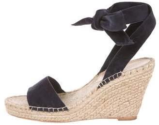 Loeffler Randall Suede Wedge Sandals