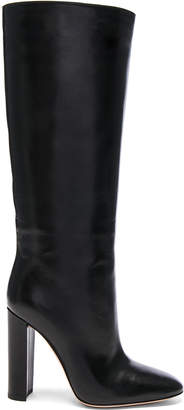 Gianvito Rossi Leather Laura Knee High Boots