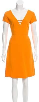 Emilio Pucci Short Sleeve Knee-Length Dress