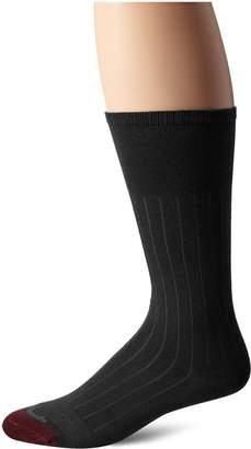 Allen Edmonds Men's Cotton Rib Mid Calf Socks