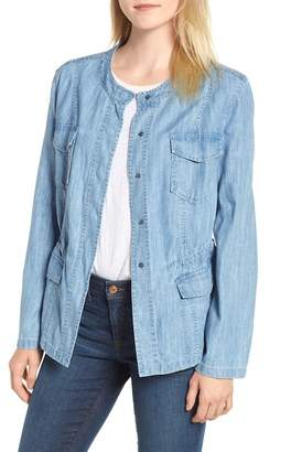 Nic+Zoe Passenger Chambray Jacket (Regular & Petite)