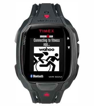 Timex Ironman Run x50+ Smart Watch 8121918 $149.95 thestylecure.com