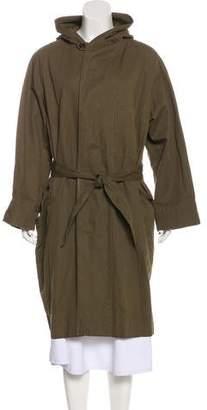Etoile Isabel Marant Canvas Long Coat