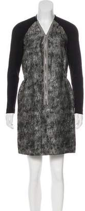 Behnaz Sarafpour Long Sleeve Wool Dress
