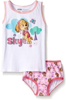 Nickelodeon Toddler Girls' Paw Patrol Skye Underwear and Tank Set