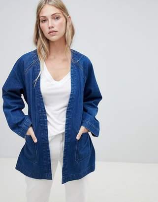 Weekday Denim Kimono Jacket