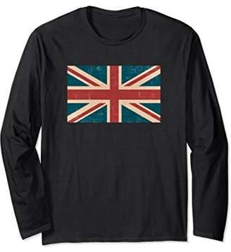 United Kingdom Flag Tee Shirt | Grunge Design UK Flag