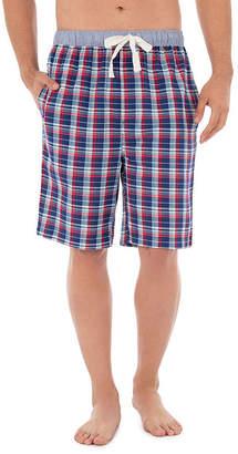 Izod Woven Broadcloth Pajama Shorts - Men's