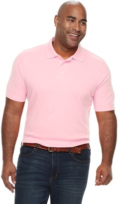 Croft & Barrow Big & Tall Classic-Fit Extra-Soft Interlock Polo