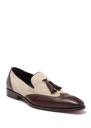 Mezlan Wingtip Tassel Loafer