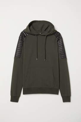 H&M Hooded Sweatshirt - Green