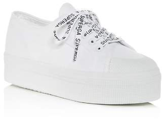 Superga Women's Cotu Classic Low-Top Platform Sneakers