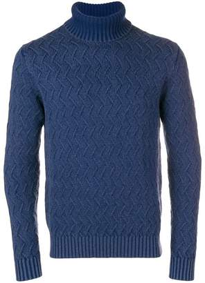 1901 Circolo roll-neck fitted sweater