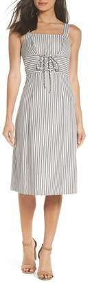 Ali & Jay Iconic Stripe Midi Dress