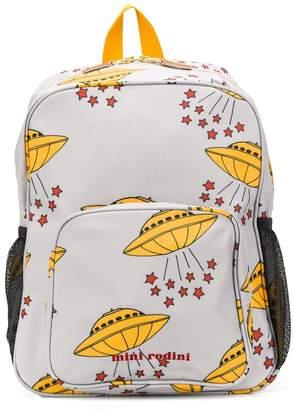 Mini Rodini UFO print backpack