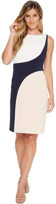 Vince Camuto Sleeveless Color Block Bodycon Dress Women's Dress