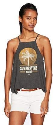 LIRA Women's Summer Time Highs Soft Tank Top-Palm Tree Logo
