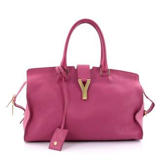 Saint Laurent Pink Leather Handbag