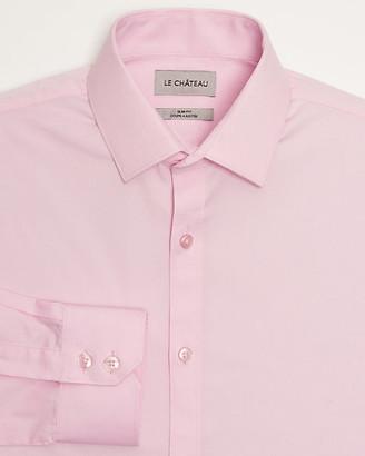 Le Château Stretch Poplin Slim Fit Shirt