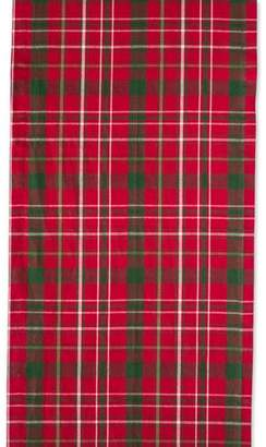 The Holiday Aisle Sadie Tartan Holly Table Runner