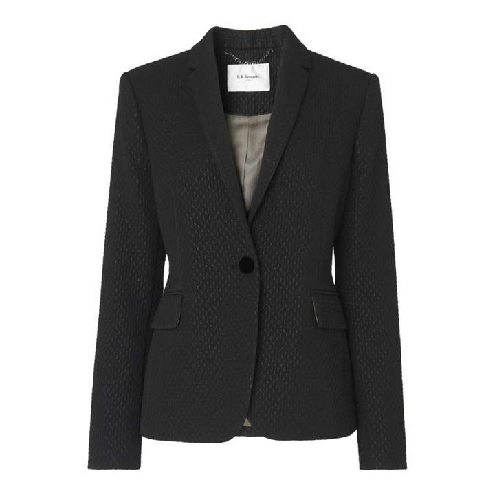 Black Lolly Jacquard Blazer