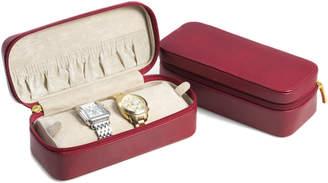 Bey-Berk Lizard Watch And Bracelet Case