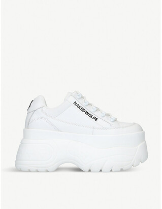 NAKED WOLFE Sprinter leather trainers