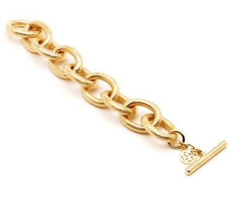 Ben-Amun Ben Amun Textured Gold Link Bracelet