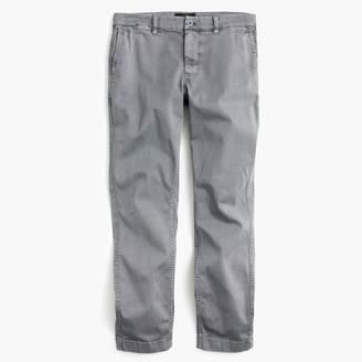 J.Crew High-rise slim boy chino pant