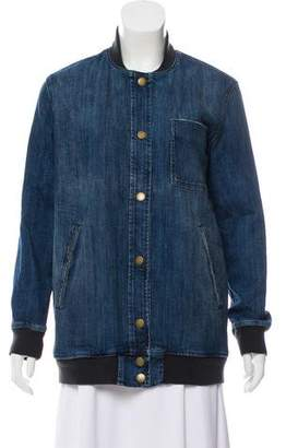 Current/Elliott Long Sleeve Denim Jacket w/ Tags