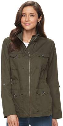 Croft & Barrow Women's 4-Pocket Utility Jacket