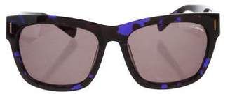 S.t. Dupont Logo Tinted Sunglasses