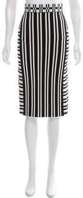 Tanya Taylor Striped Knit Skirt w/ Tags