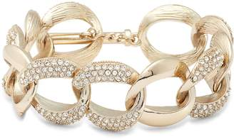 Nina Pave Curb Chain Bracelet