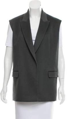 Reed Krakoff Open Front Notch-Lapel Vest