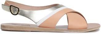 Ancient Greek Sandals Maria ベルベット スライドサンダル