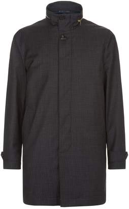 Paul Smith Detachable Gilet Houndstooth Jacket