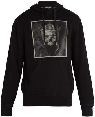 Alexander McQueen Skull-print hooded sweatshirt