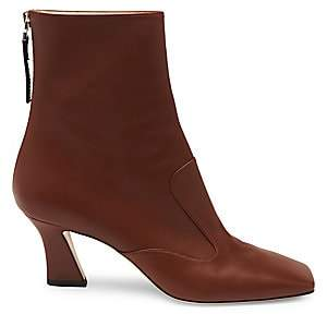 Fendi Women's FFreedom Leather Ankle Boots